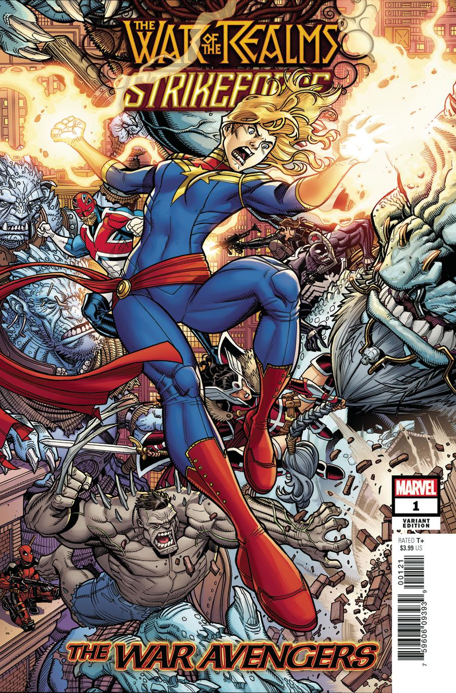 War Of The Realms Strikeforce War Avengers #1 Cover B Variant Nick Bradshaw Cover