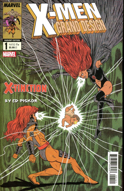X-Men Grand Design X-Tinction #1 Cover B Variant Ed Piskor Cover