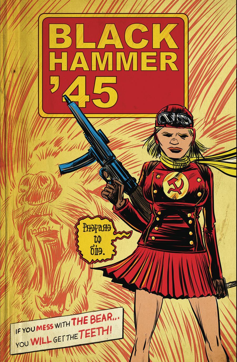 Black Hammer 45 From The World Of Black Hammer #3 Cover A Regular Matt Kindt Cover