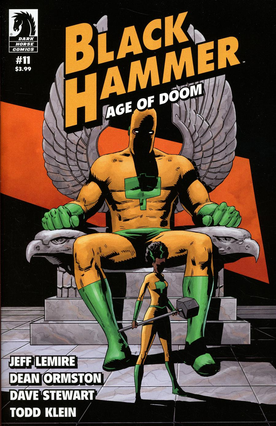 Black Hammer Age Of Doom #11 Cover A Regular Dean Ormston Cover