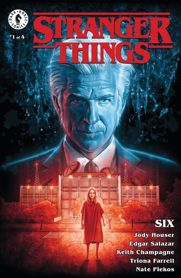 Stranger Things Six #1 Cover B Variant Kyle Lambert Cover