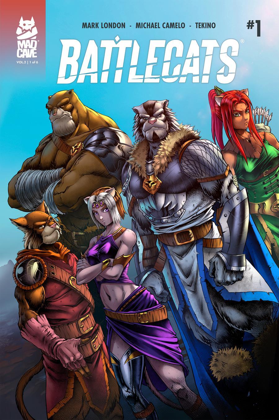 Battlecats Vol 2 #1