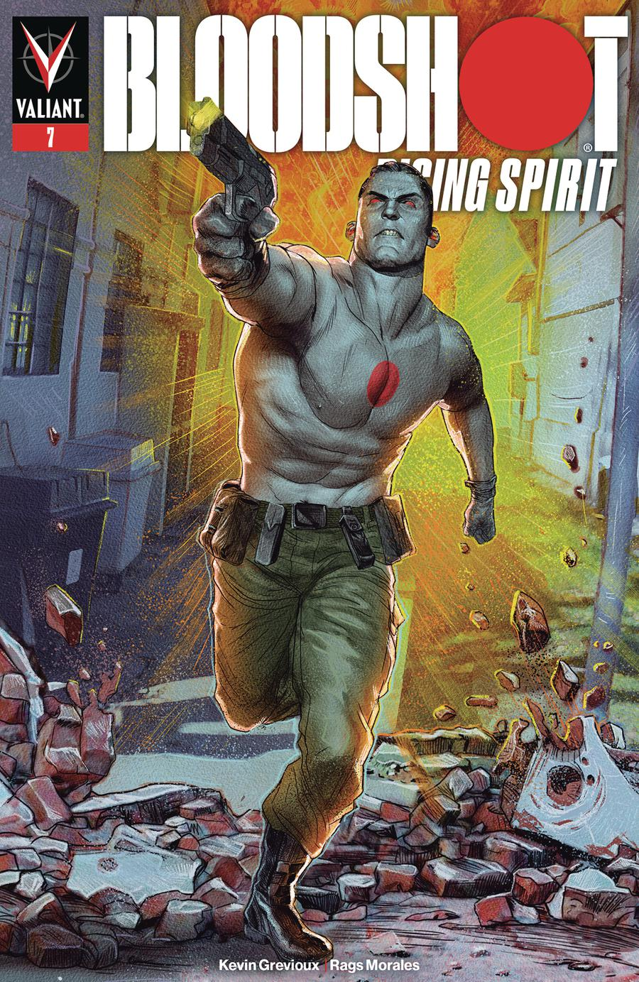 Bloodshot Rising Spirit #7 Cover A Regular Renato Guedes Cover