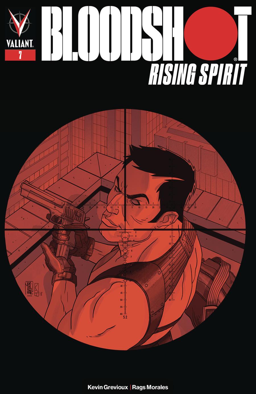 Bloodshot Rising Spirit #7 Cover B Variant AJ Jothikumar Cover