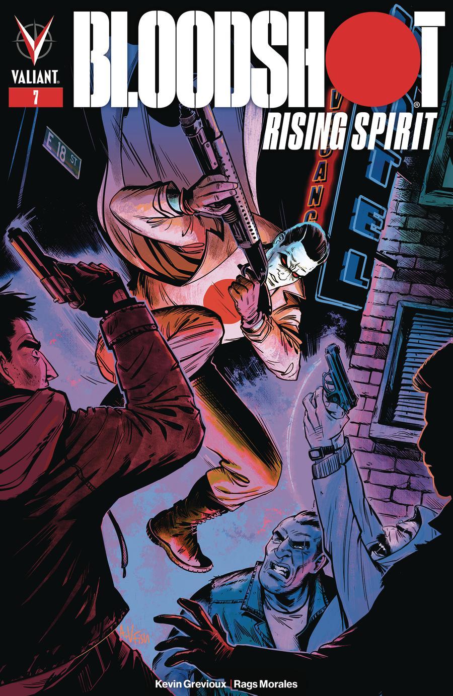 Bloodshot Rising Spirit #7 Cover C Variant Veronica Fish Cover