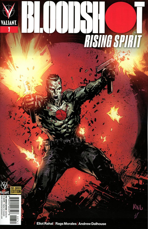 Bloodshot Rising Spirit #7 Cover D Variant Ken Lashley Cover