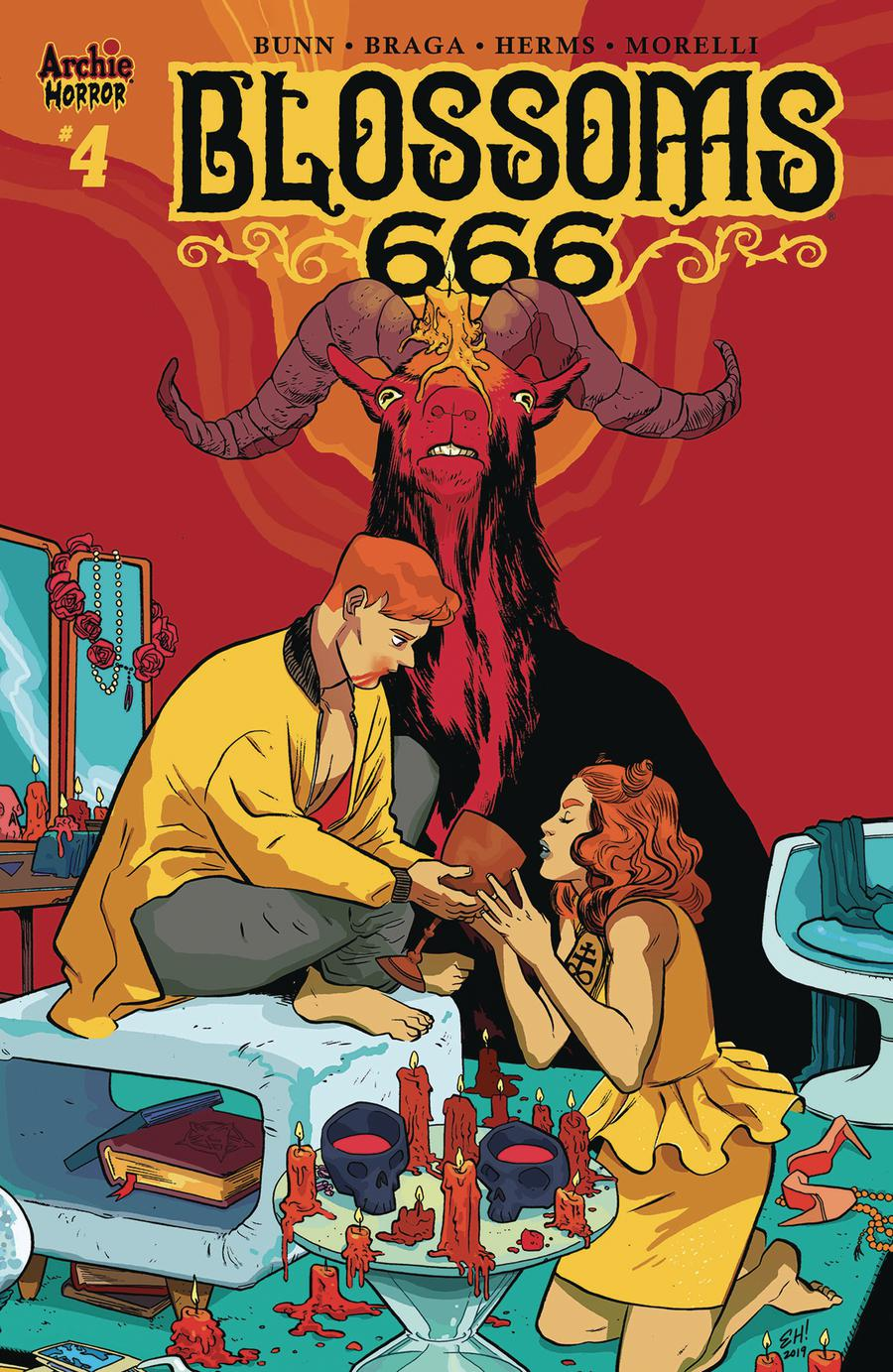 Blossoms 666 #4 Cover C Variant Erica Henderson Cover