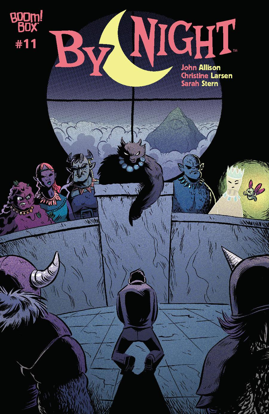 By Night #11 Cover A Regular Christine Larsen Cover