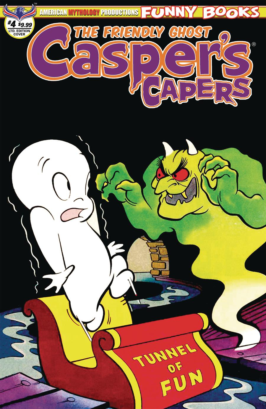 Caspers Capers #4 Cover B Variant Warren Kremer Limited Edition Cover