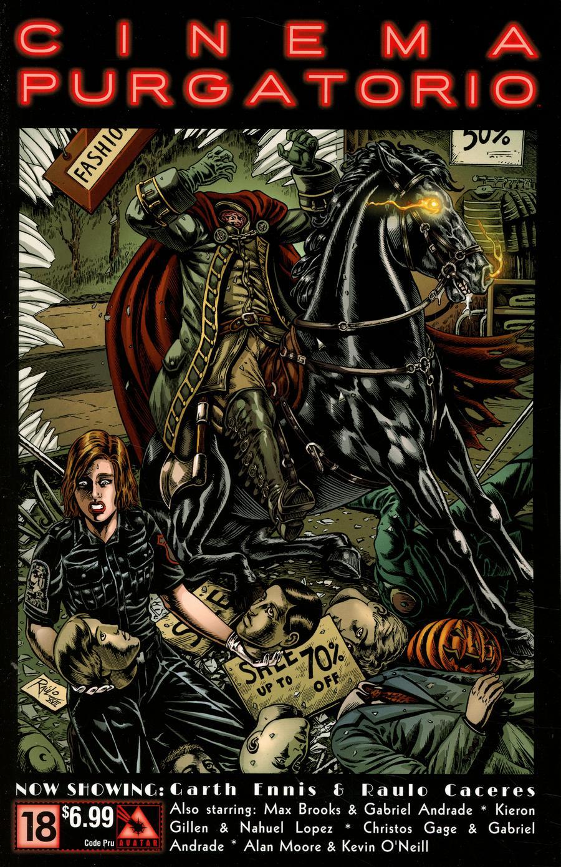 Cinema Purgatorio #18 Cover B Code Pru Cover
