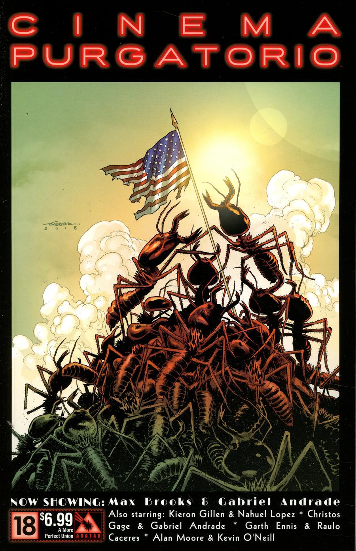 Cinema Purgatorio #18 Cover C A More Perfect Union Cover