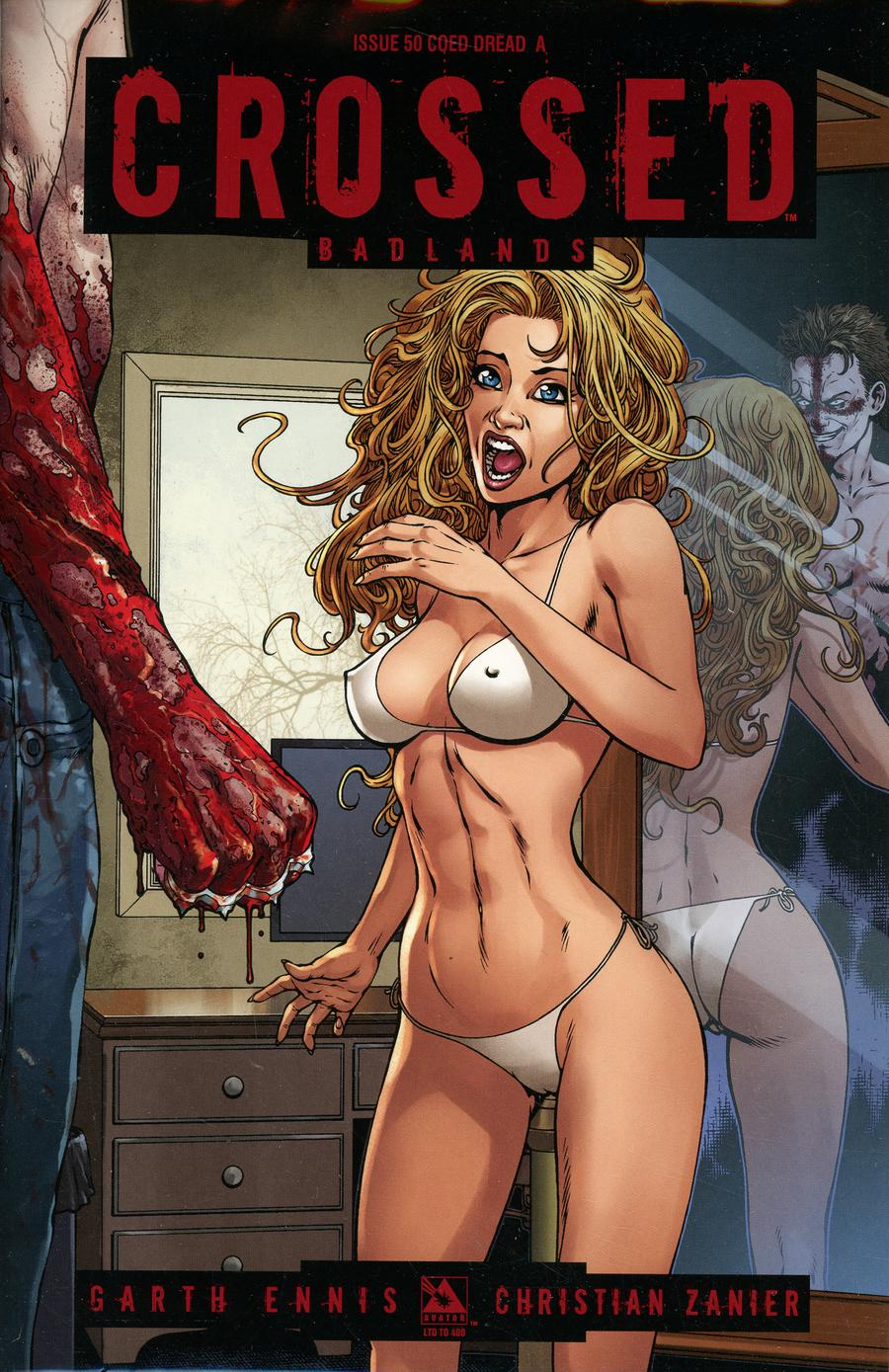 Crossed Badlands #50 Cover R Coed Dread A Cover