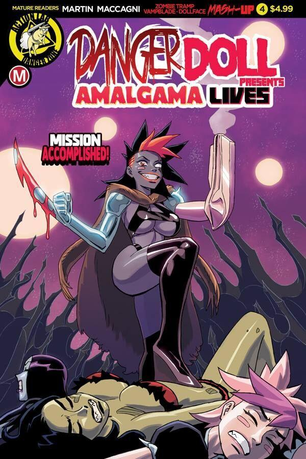 Danger Doll Squad Presents Amalgama Lives #4 Cover A Regular Winston Young Cover