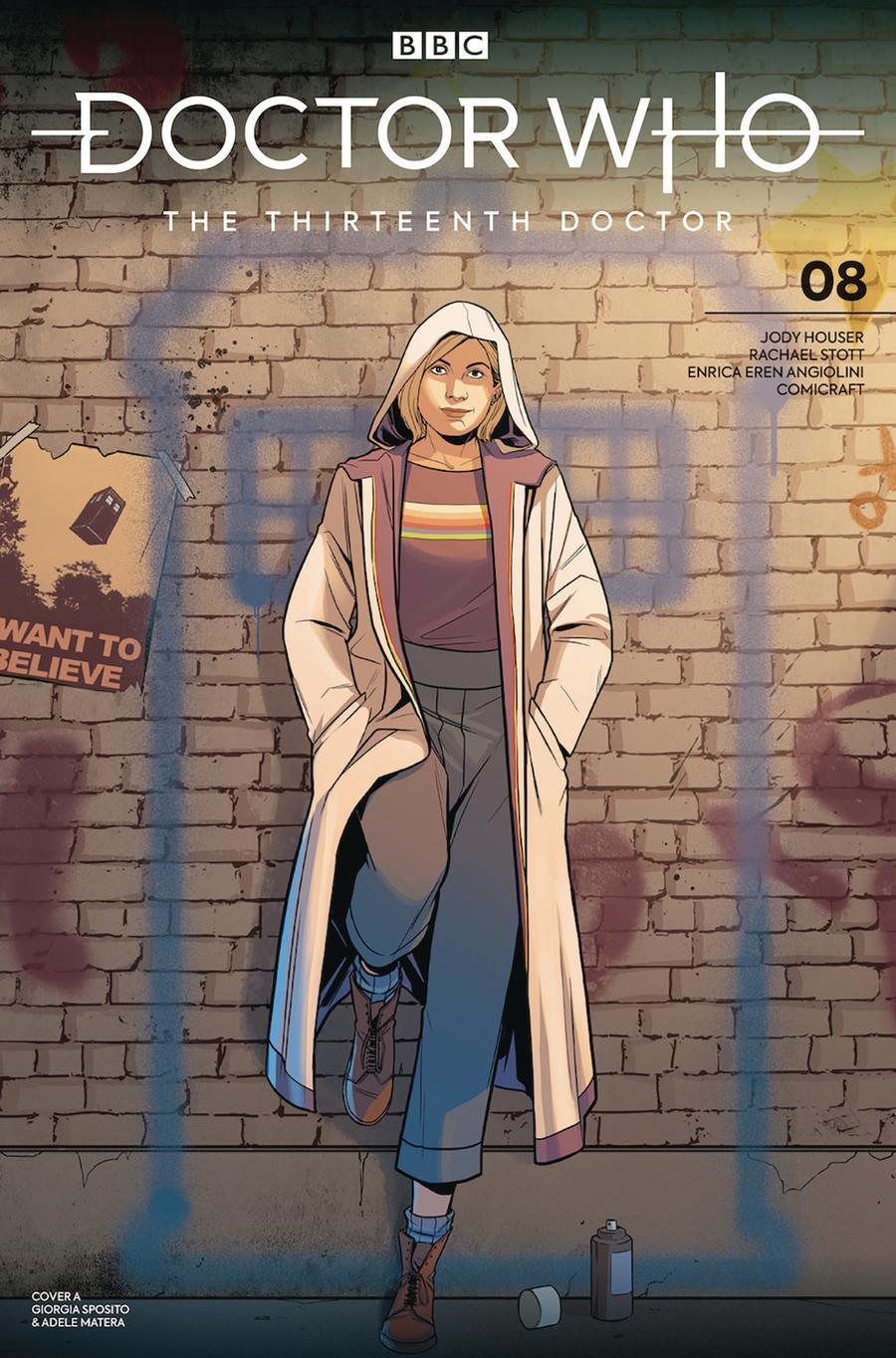 Doctor Who 13th Doctor #8 Cover A Regular Giorgia Sposito Cover