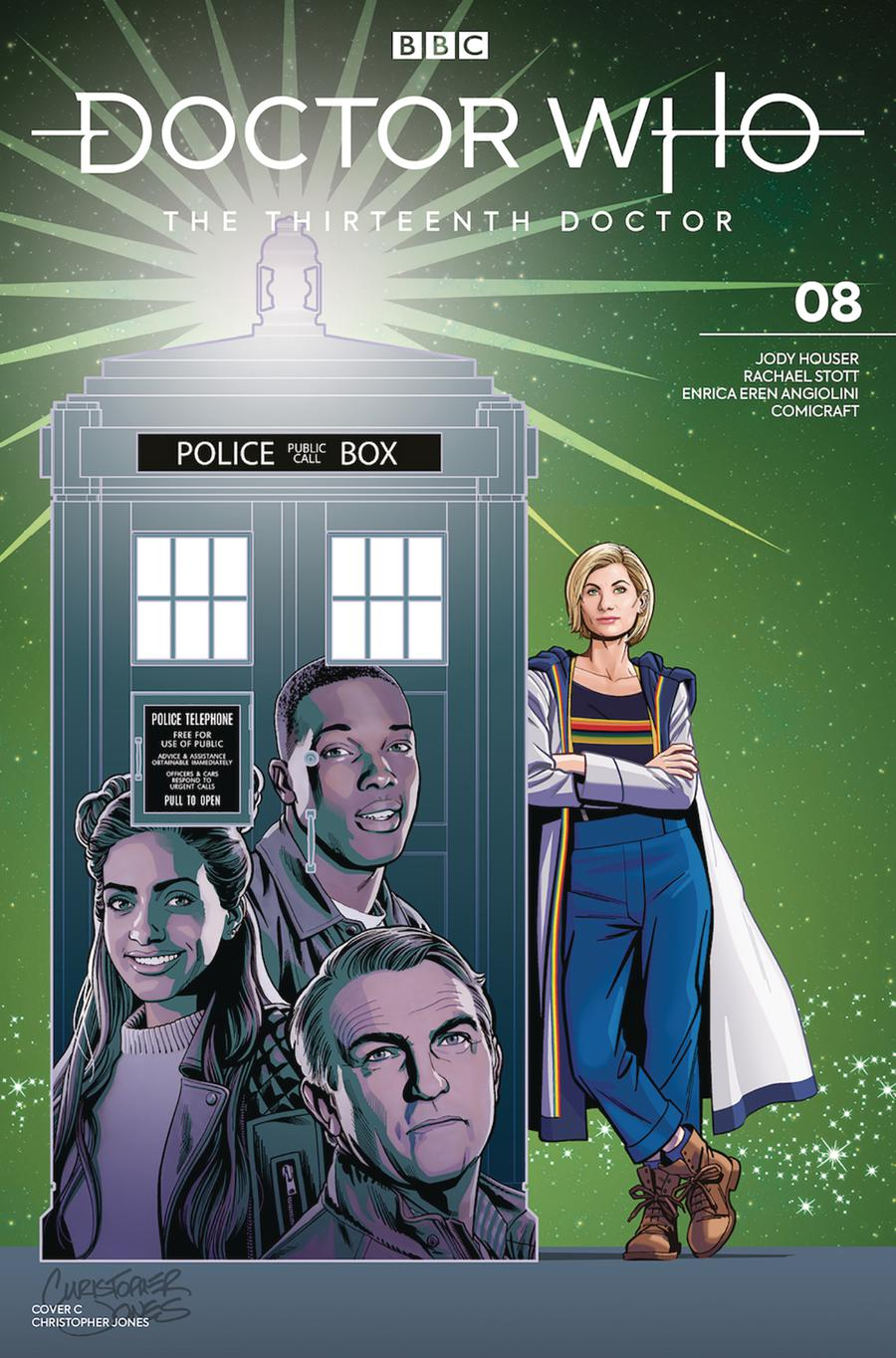 Doctor Who 13th Doctor #8 Cover C Variant Chris Jones Cover