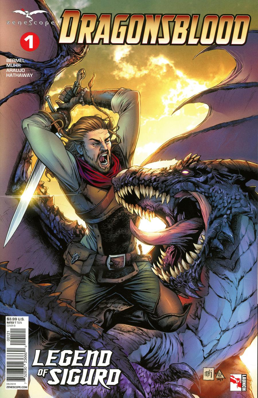 Grimm Fairy Tales Presents Dragonsblood #1 Cover B Mike Krome