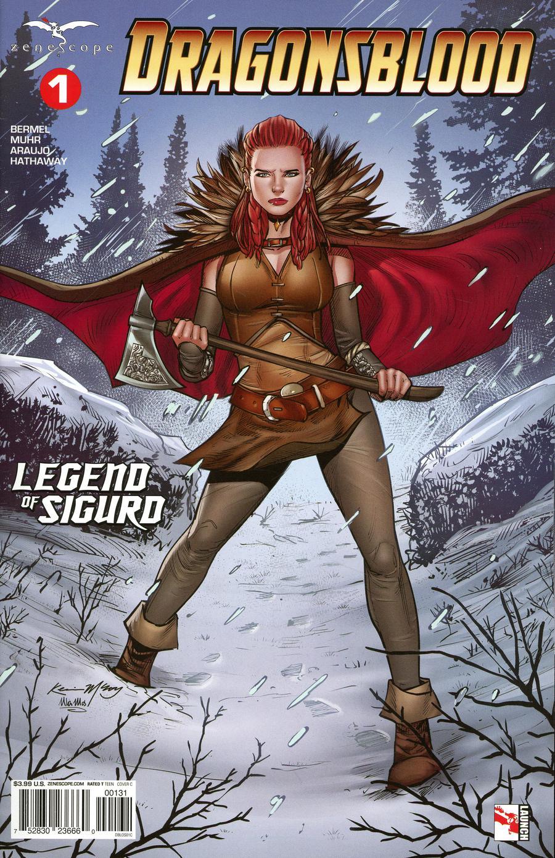 Grimm Fairy Tales Presents Dragonsblood #1 Cover C Kevin McCoy