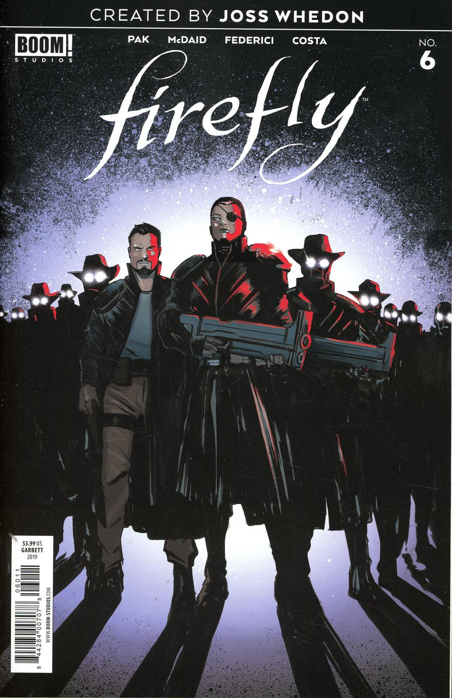 Firefly #6 Cover A Regular Lee Garbett Cover
