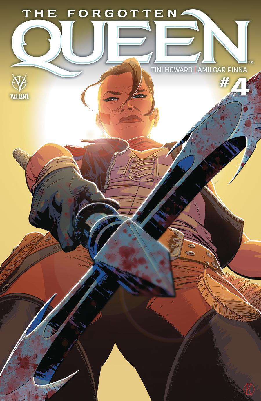 Forgotten Queen #4 Cover A Regular Kano Cover