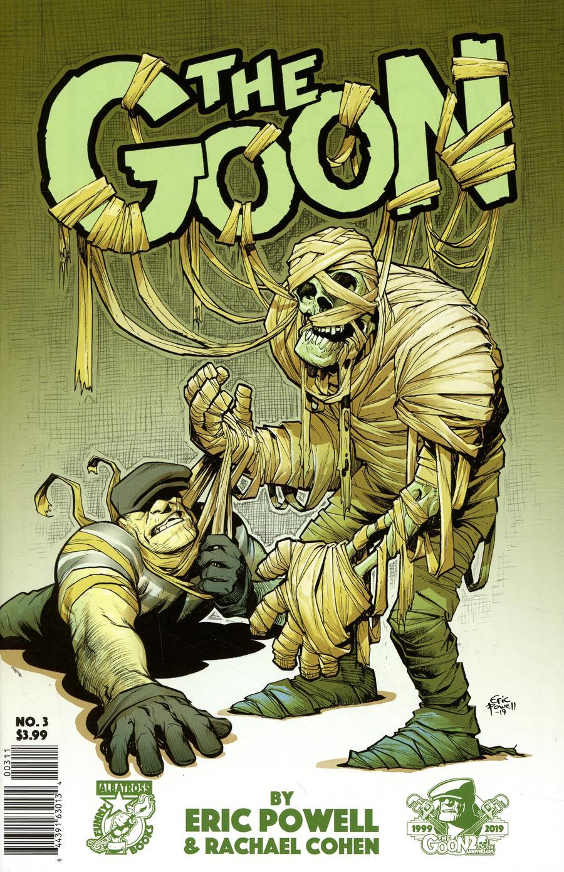 Goon Vol 4 #3 Cover A Regular Eric Powell Cover