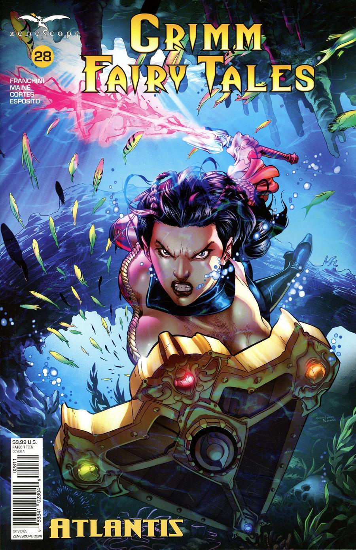 Grimm Fairy Tales Vol 2 #28 Cover A Martin Coccolo
