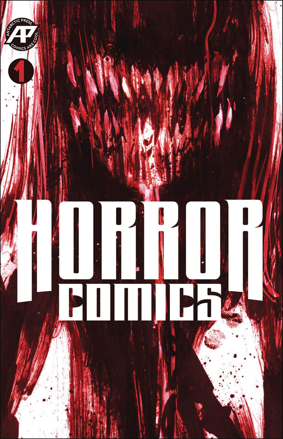 Horror Comics #1 Cover B Variant Teether Cover