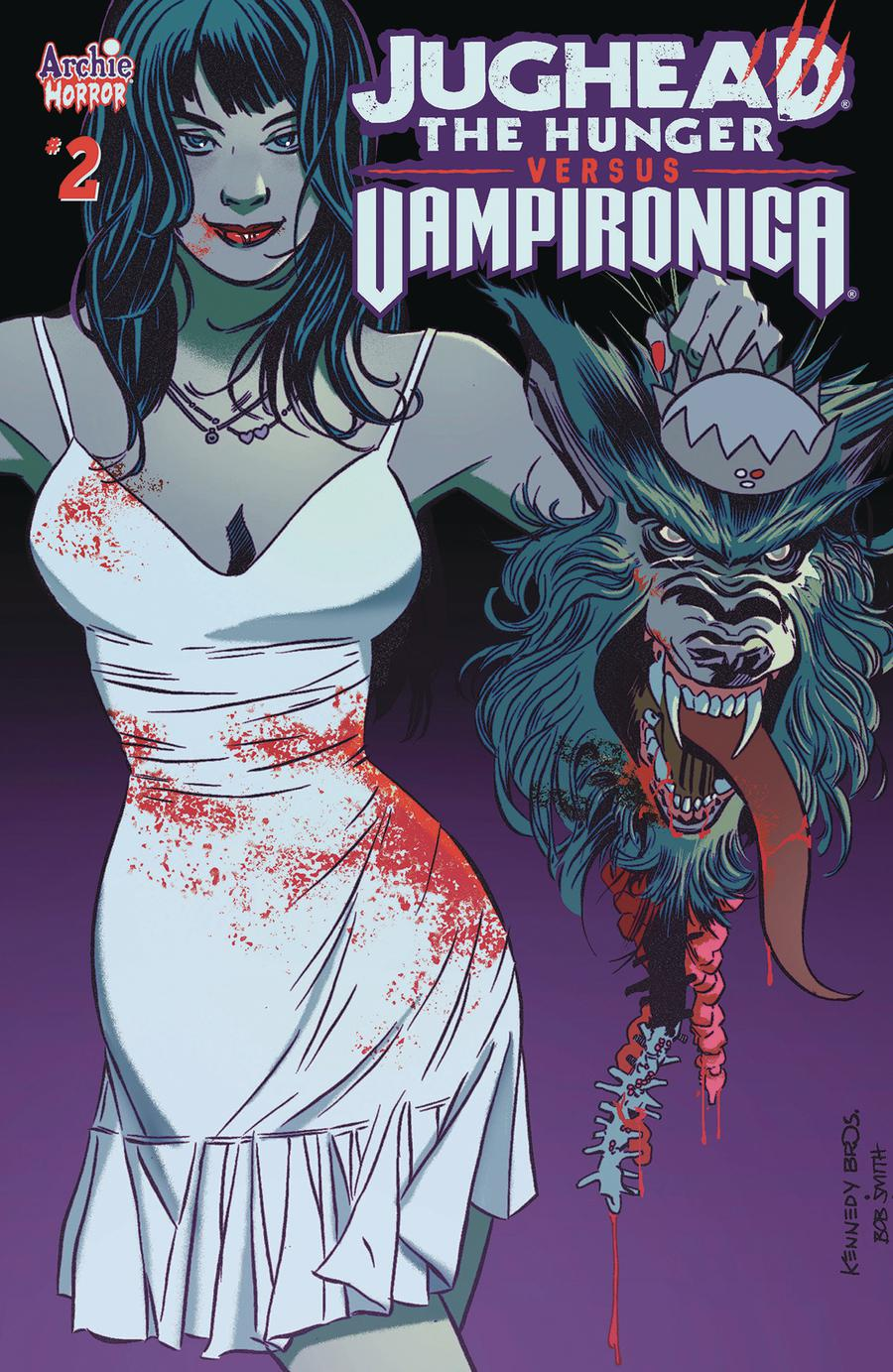 Jughead The Hunger Versus Vampironica #2 Cover A Regular Pat Kennedy & Tim Kennedy Cover