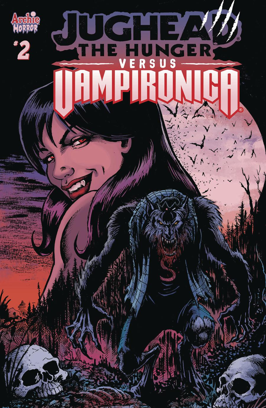 Jughead The Hunger Versus Vampironica #2 Cover C Variant Darick Robertson Cover