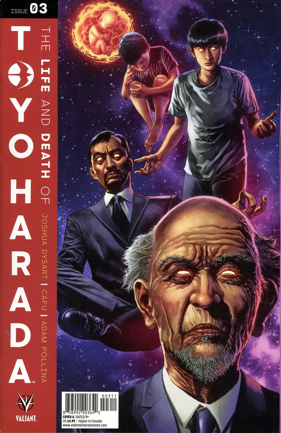 Life And Death Of Toyo Harada #3 Cover A Regular Mico Suayan Cover