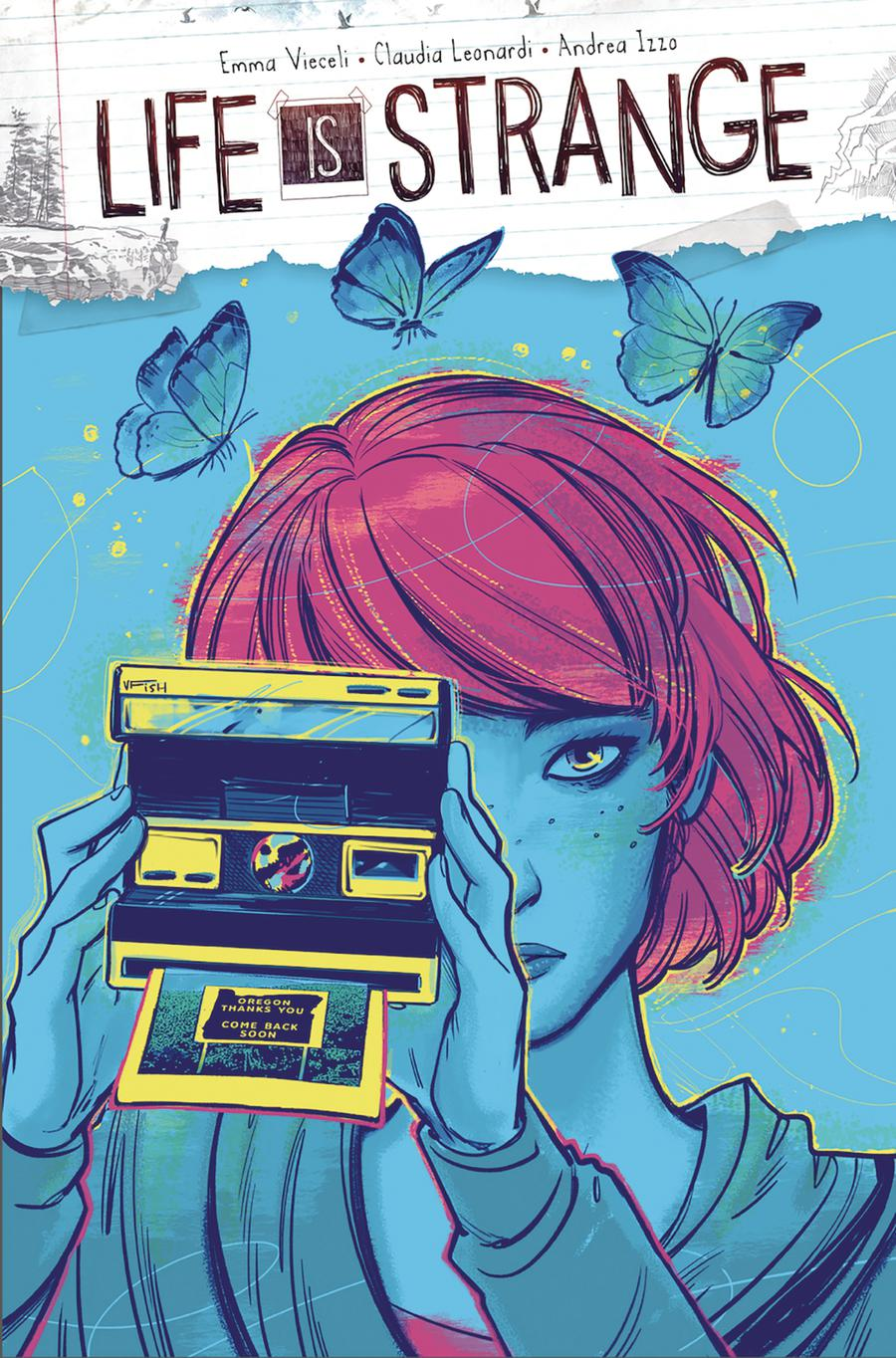 Life Is Strange #5 Cover A Regular Veronica Fish Cover