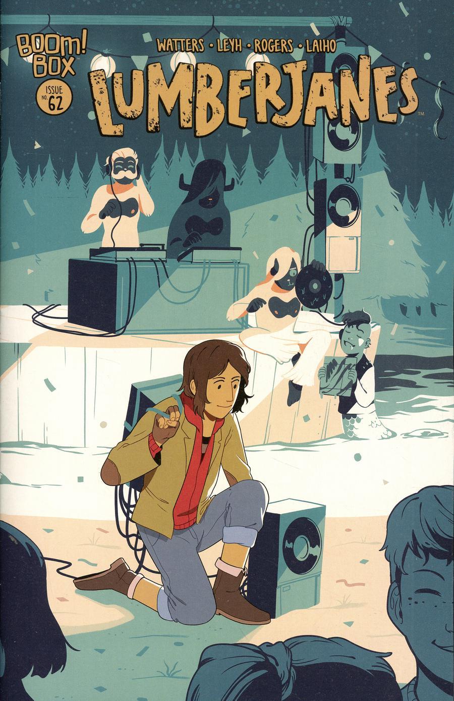 Lumberjanes #62 Cover B Variant Chan Chau Preorder Cover
