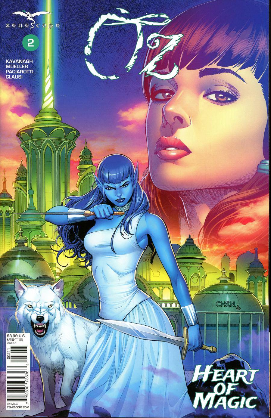 Grimm Fairy Tales Presents Oz Heart Of Magic #2 Cover A Sean Chen