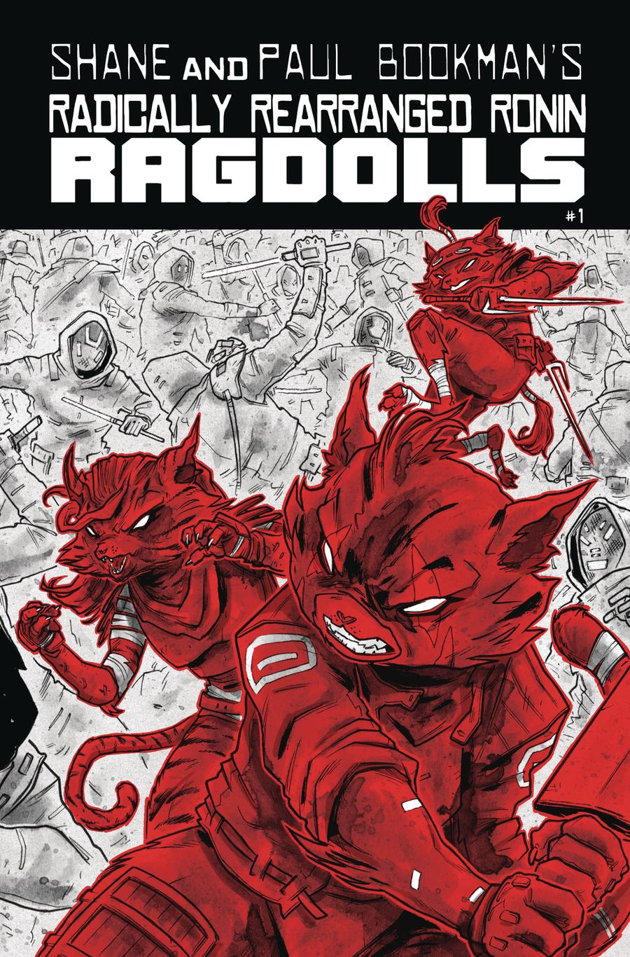 Radically Rearranged Ronin Ragdolls One Shot Cover C Variant Ben Bishop Cover