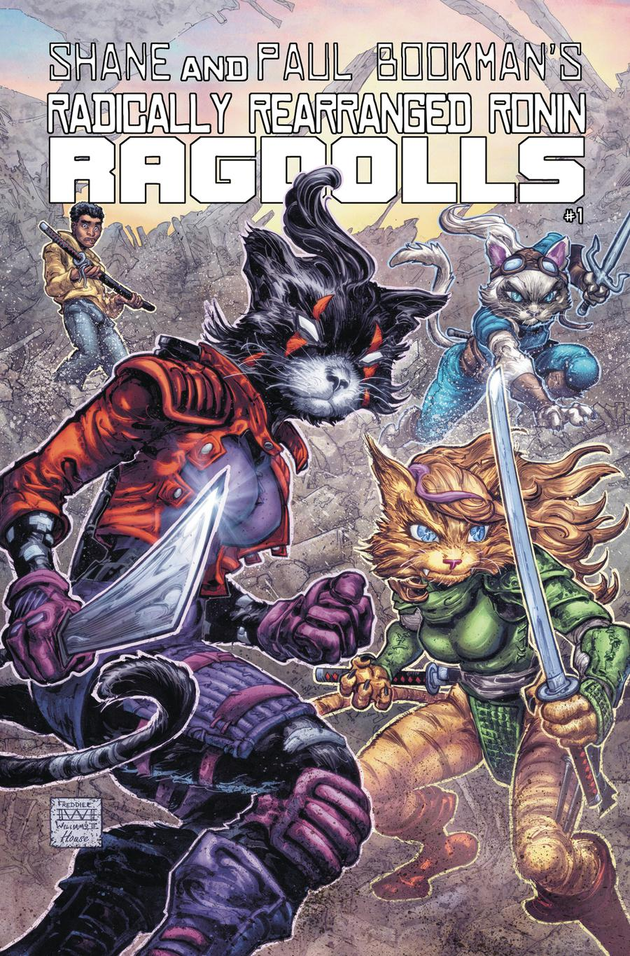 Radically Rearranged Ronin Ragdolls One Shot Cover D Variant Freddie Williams II Cover