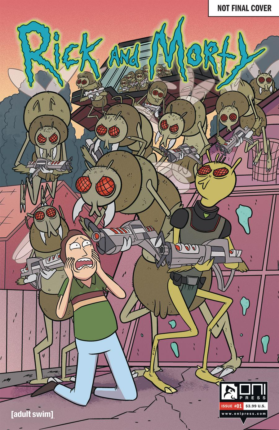 Rick And Morty #1 Cover I Variant 50 Issues Special Connecting Cover