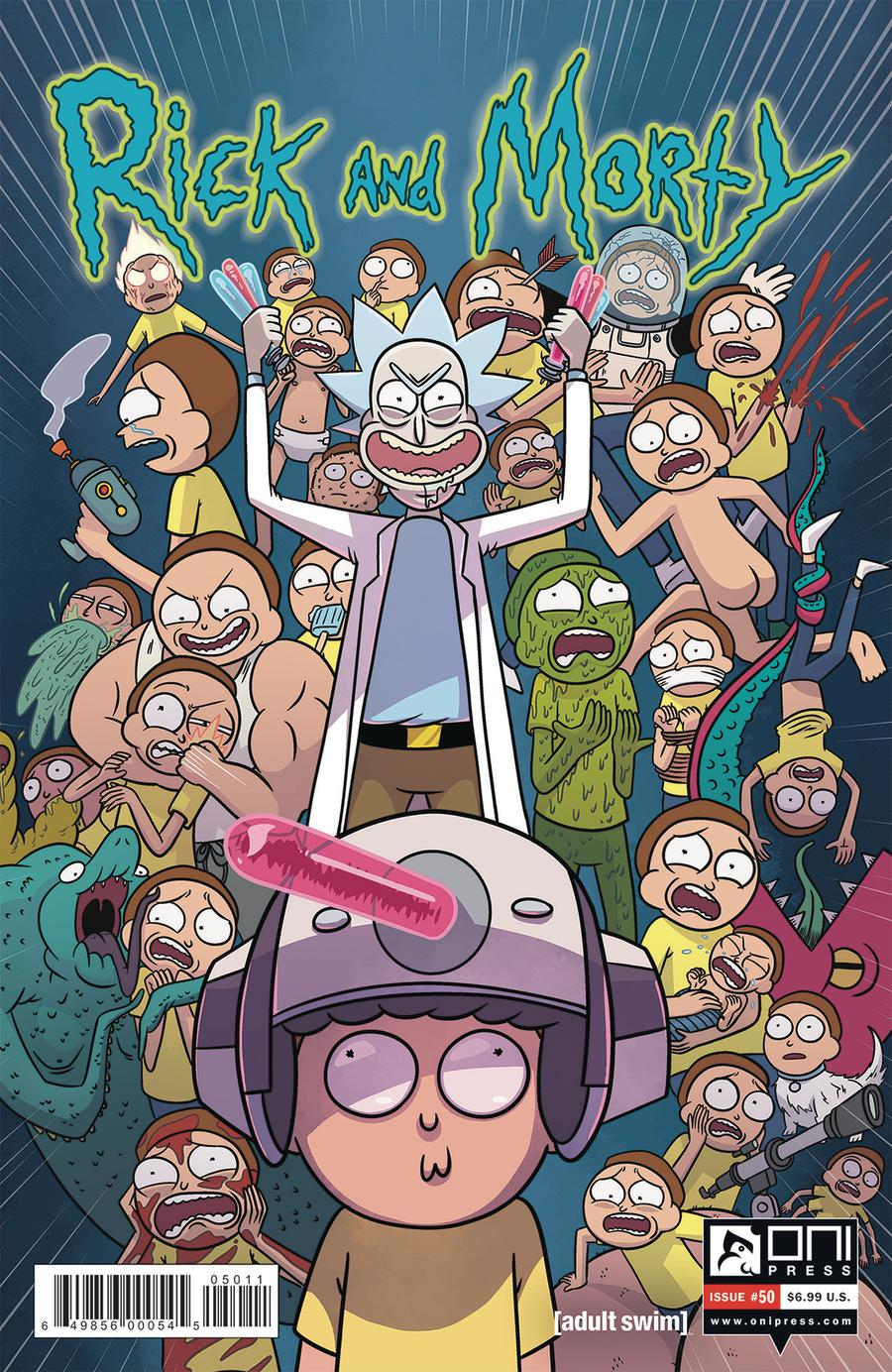 Rick And Morty #50 Cover A Regular Sarah Stern Cover