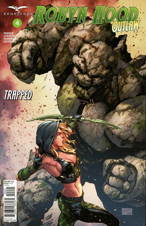 Grimm Fairy Tales Presents Robyn Hood Outlaw #4 Cover B Edgar Salazar