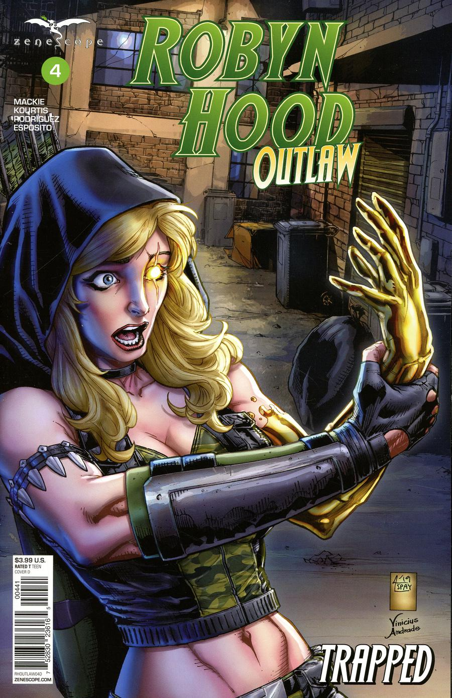 Grimm Fairy Tales Presents Robyn Hood Outlaw #4 Cover D Anthony Spay