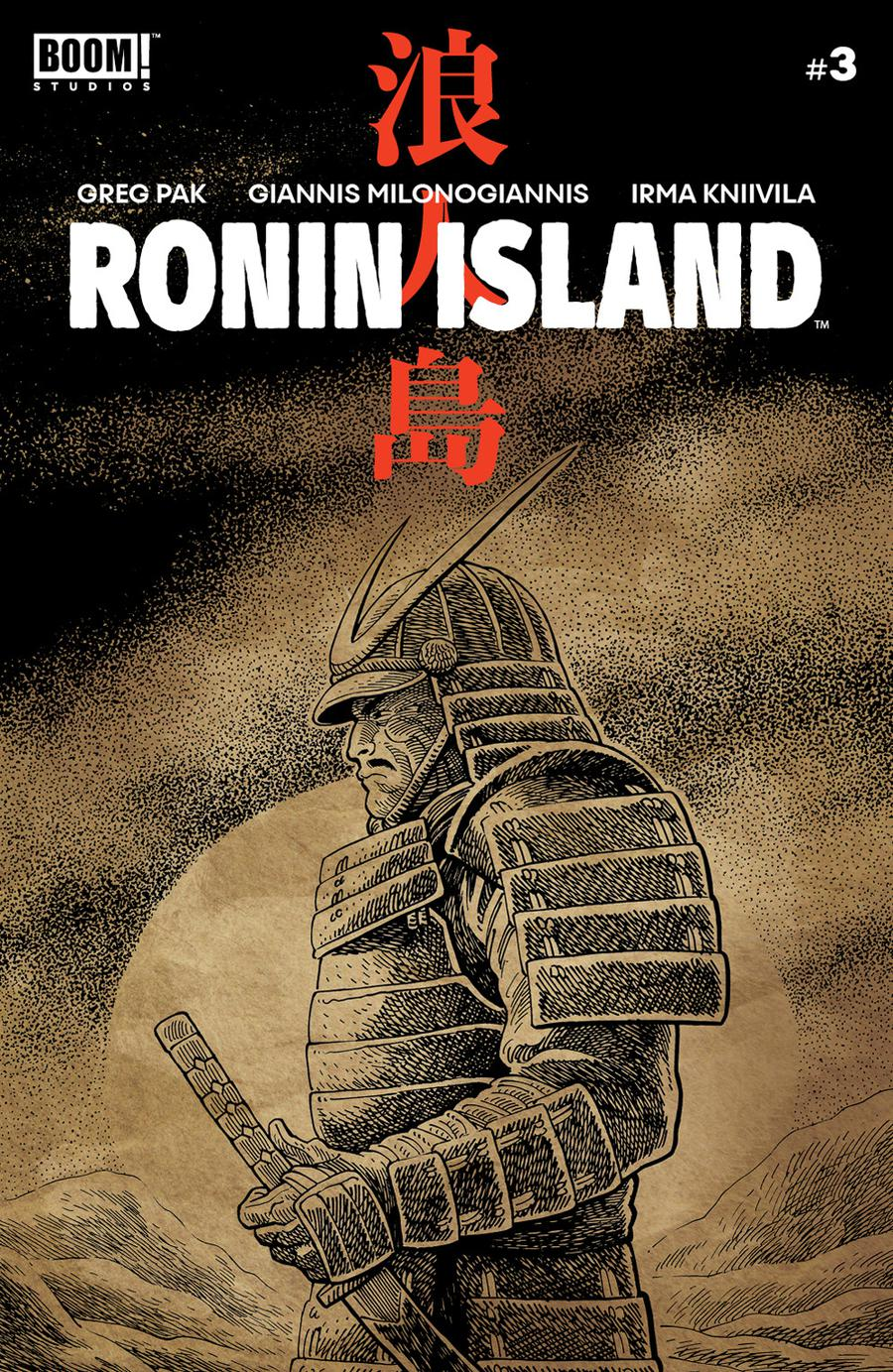 Ronin Island #3 Cover B Variant Ethan Young Preorder Cover