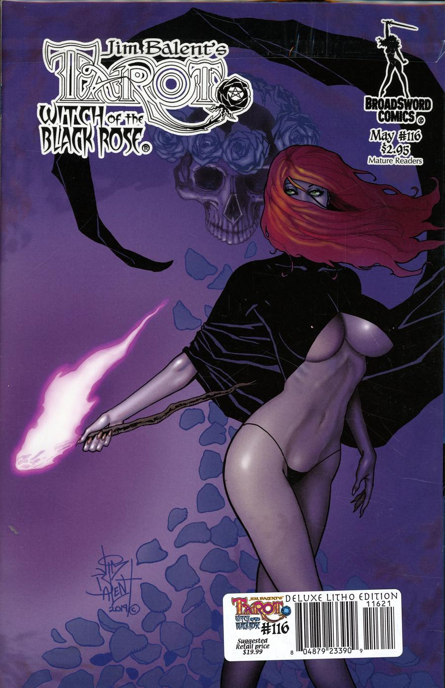 Tarot Witch Of The Black Rose #116 Cover D Variant Raven Hex Photo Cover