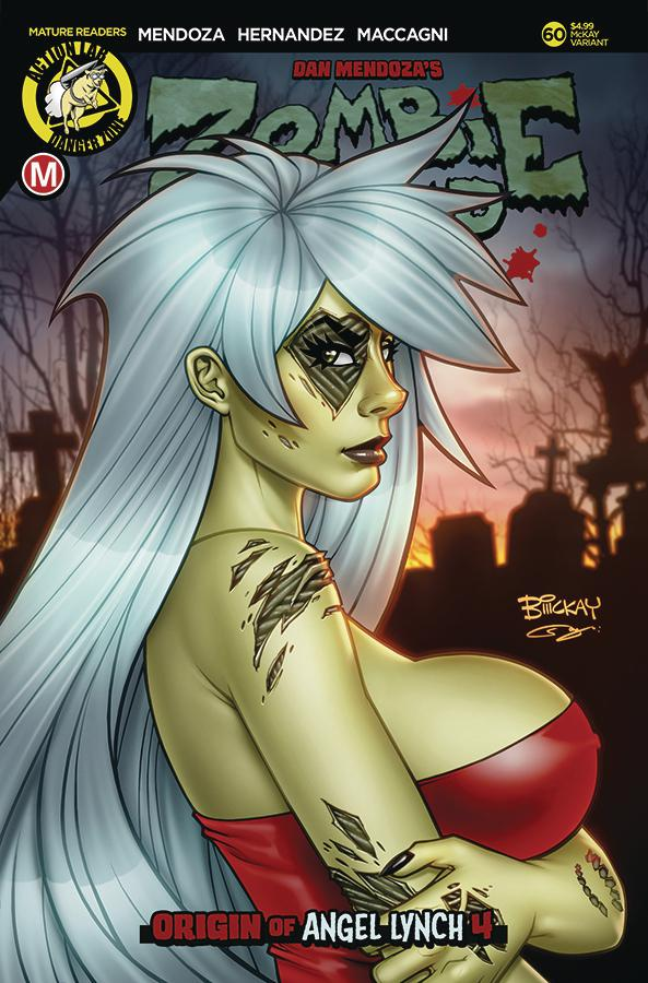 Zombie Tramp Vol 2 #60 Cover C Variant Bill McKay Cover
