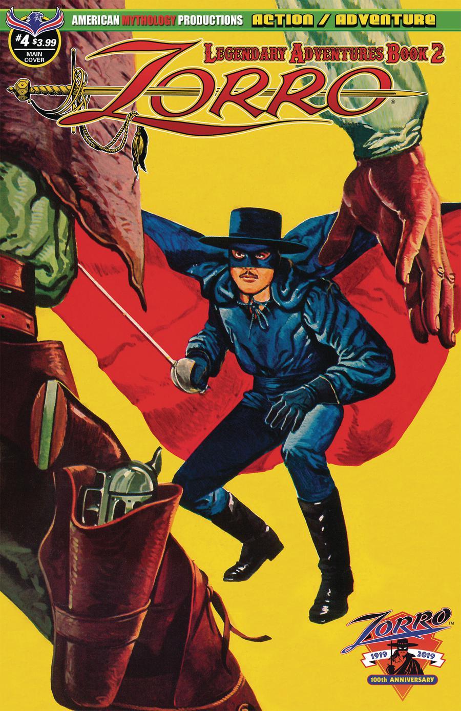 Zorro Legendary Adventures Book 2 #4 Cover A Regular Cover