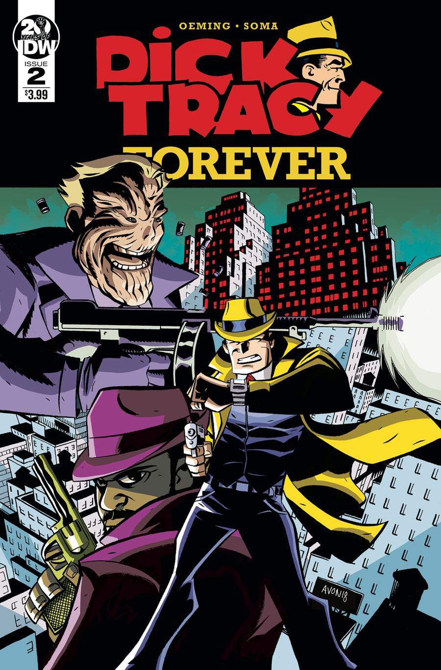 Dick Tracy Forever #2 Cover A Regular Michael Avon Oeming Cover