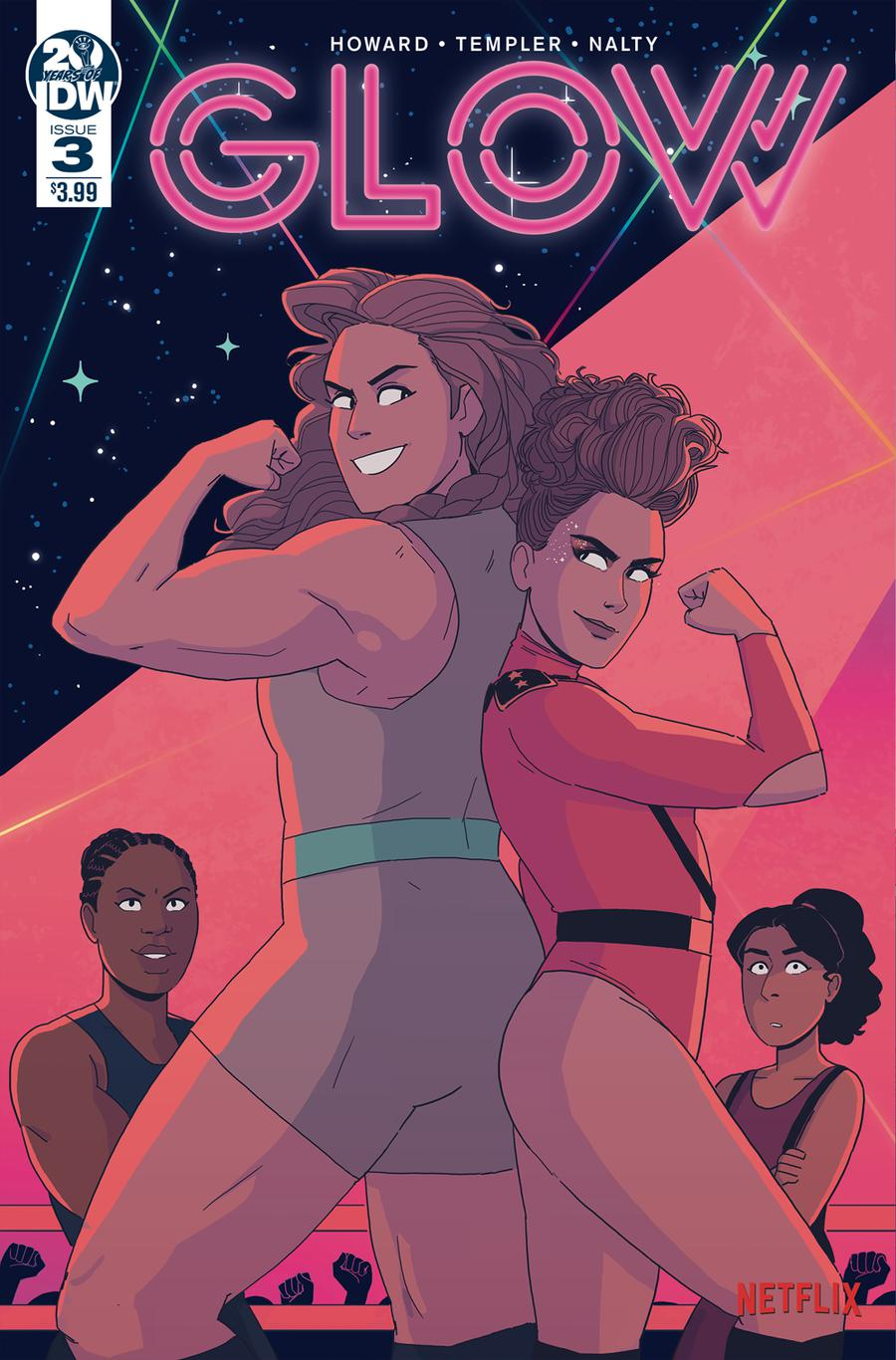 GLOW #3 Cover A Regular Hannah Templer Cover