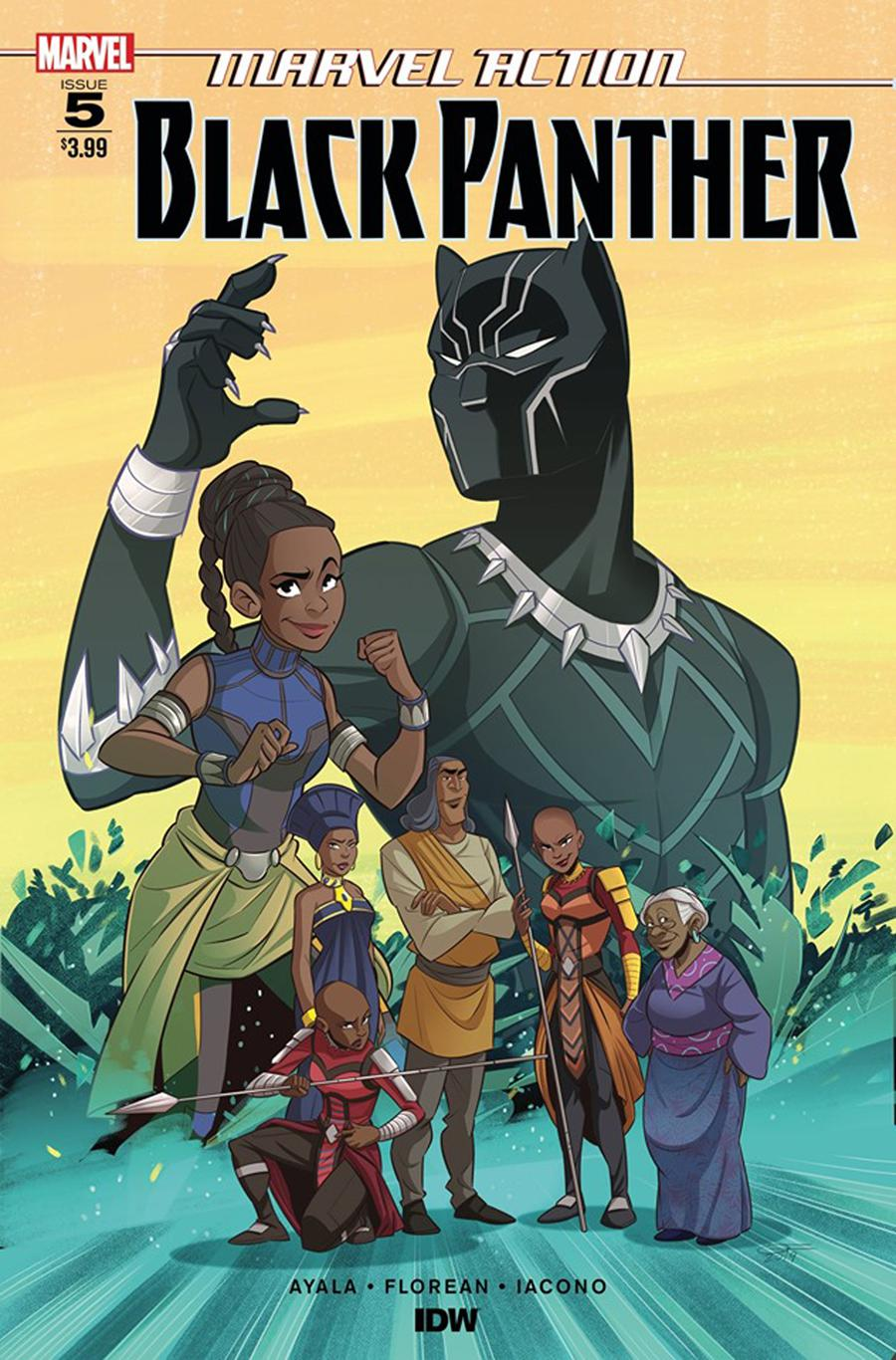 Marvel Action Black Panther #5 Cover A Regular Arianna Florean Cover