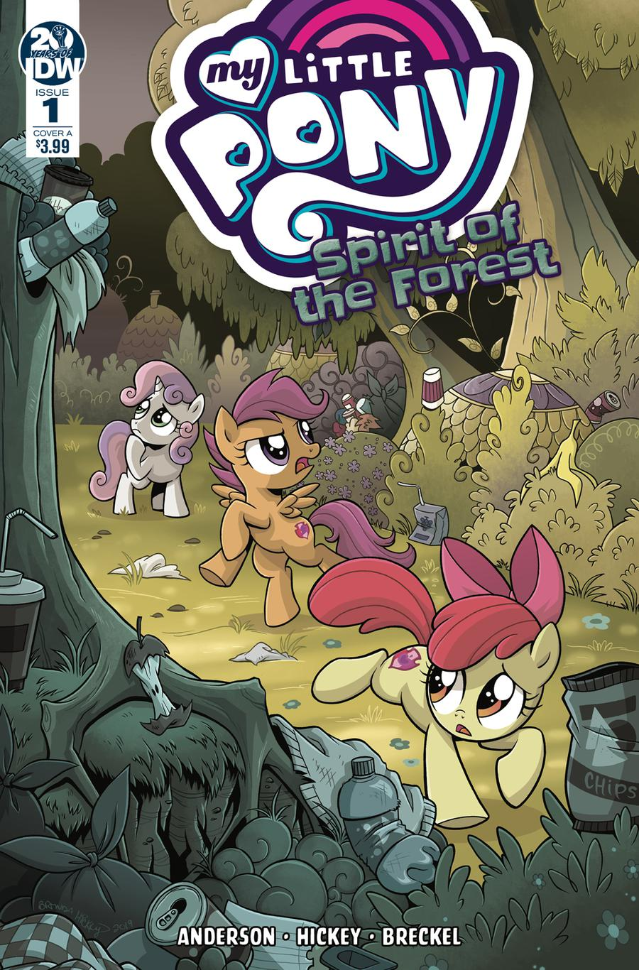 My Little Pony Spirit Of The Forest #1 Cover A Regular Brenda Hickey Cover