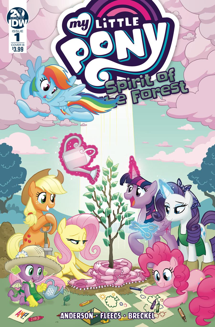 My Little Pony Spirit Of The Forest #1 Cover B Variant Tony Fleecs Cover