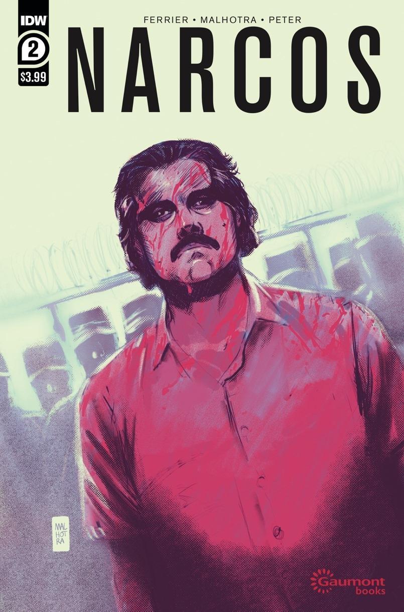 Narcos #2 Cover A Regular Vic Malhotra Cover
