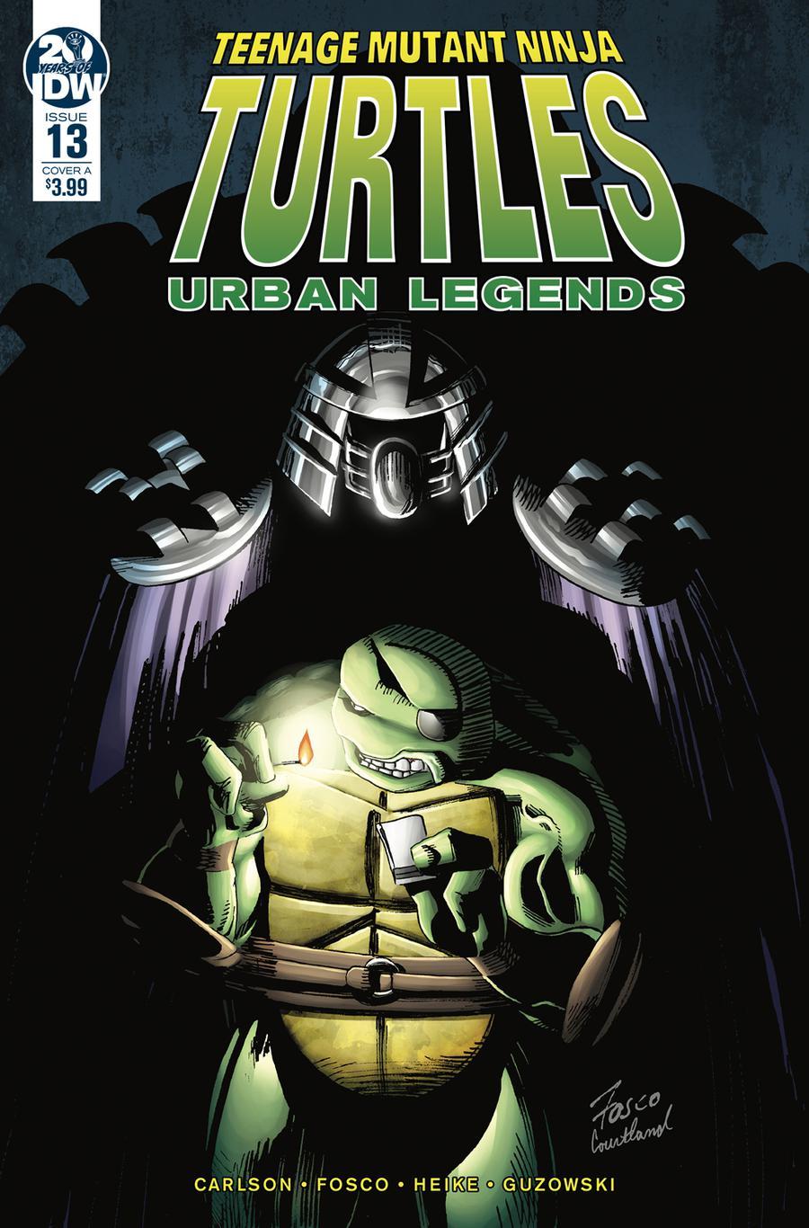 Teenage Mutant Ninja Turtles Urban Legends #13 Cover A Regular Frank Fosco Cover