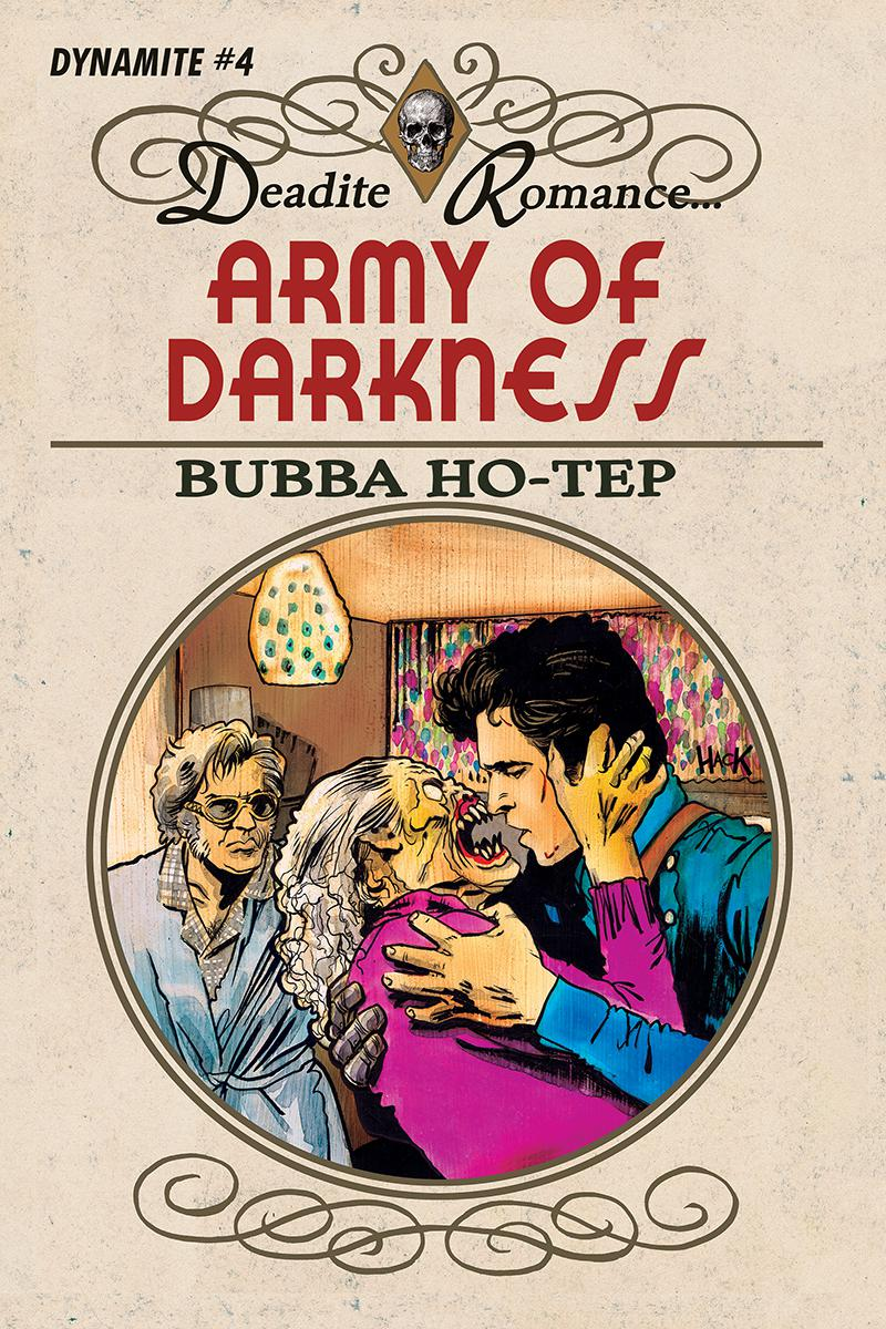 Army Of Darkness Bubba Ho-Tep #4 Cover C Variant Robert Hack Cover